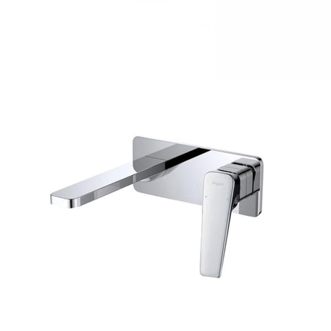 Argent Edge Wall Mounted Basin/ Bath Mixer Chrome