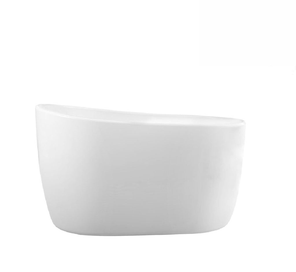 Decina Cosmo Freestanding Bath 1300x800x750mm - White