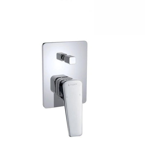 Argent Edge Shower Diverter Mixer Chrome