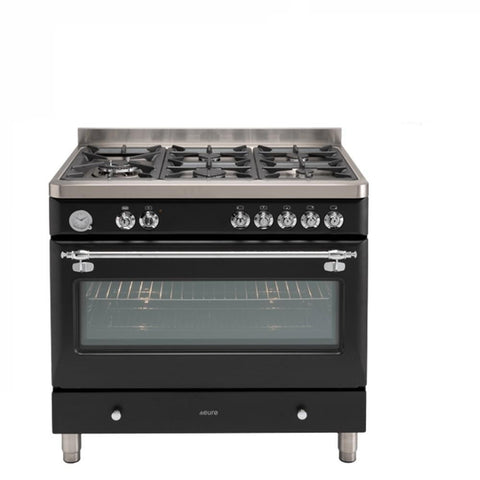 Euro Appliances Freestanding Oven 90cm Anthracite Royal Chiantishire (4132877729852)