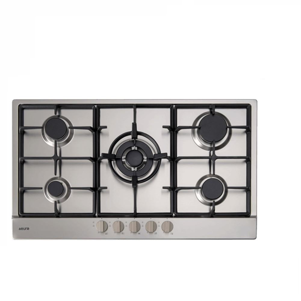 Euro Cooktop (Gas) 900mm Stainless Steel ECT900GX (4127245238332)