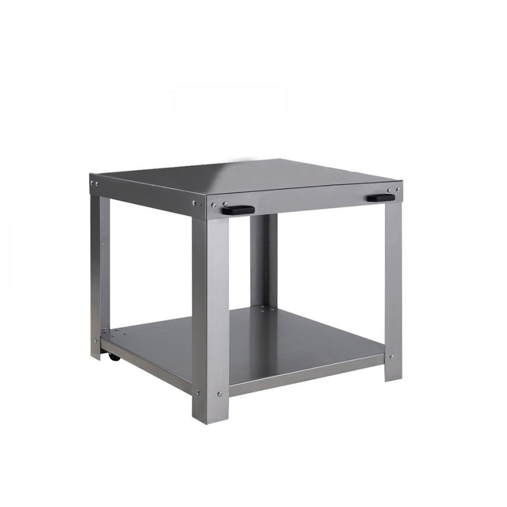 Euro Appliances Pizza Oven Trolley to suit 60x80 Stainless Steel (4132878385212)