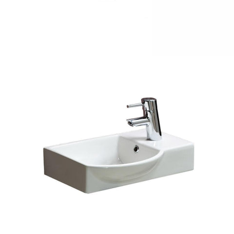 Argent Azure Small Hand Wash White Basin
