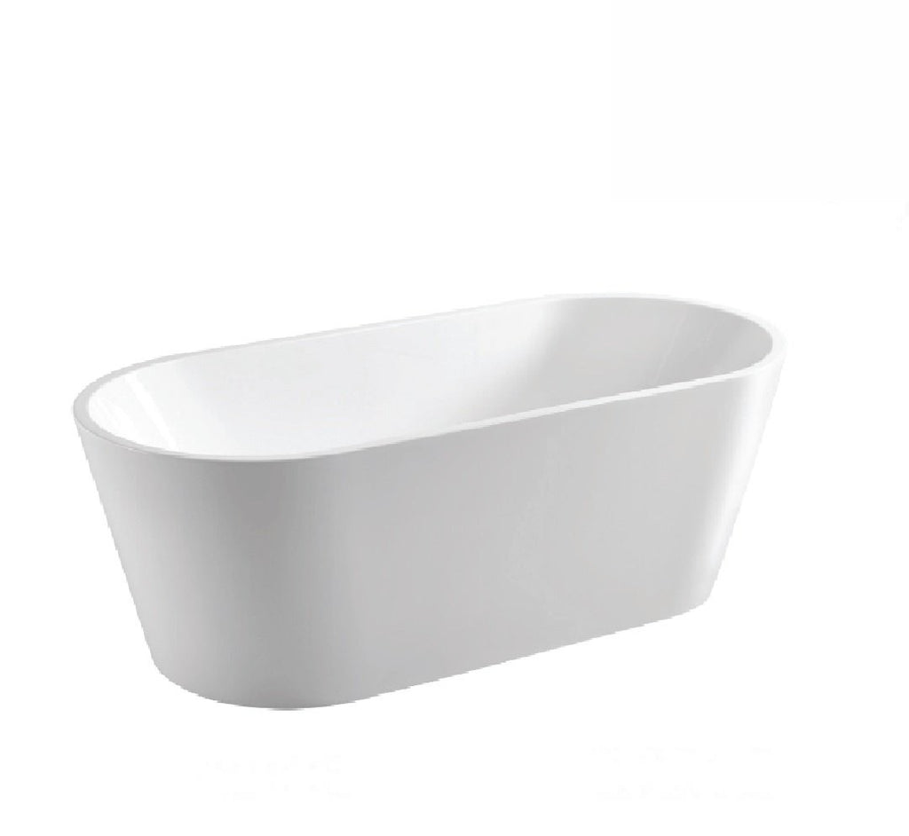 Fienza Empire Freestanding Acrylic Bath 1400mm White (2530539831356)
