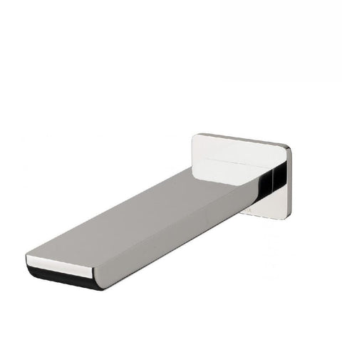 Phoenix Gloss Wall Basin Outlet 180mm Chrome (4129894957116)
