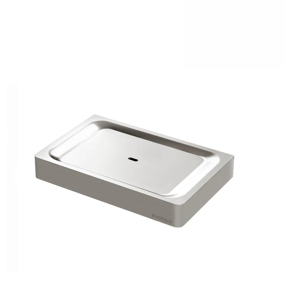 Phoenix Gloss Soap Dish Brushed Nickel (4129896071228)