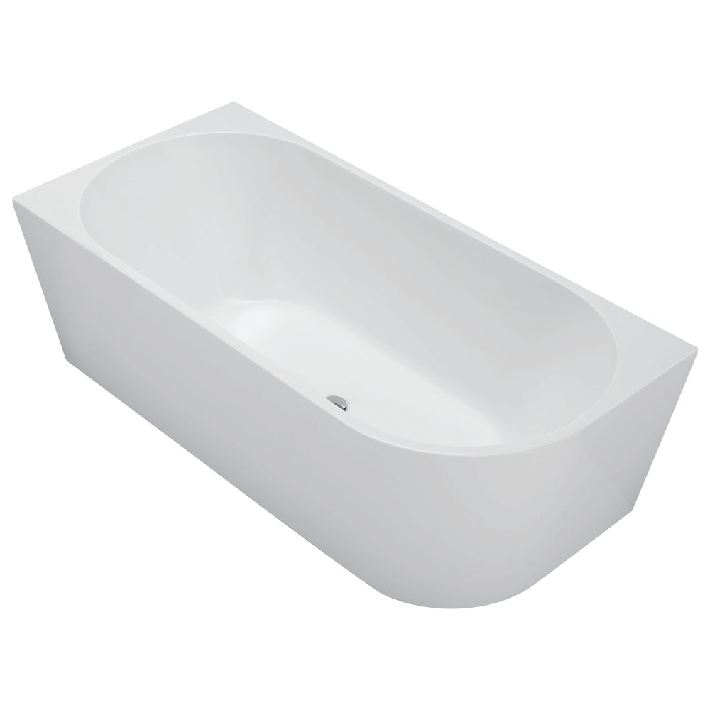 Fienza Isabella 1700mm Right-Hand Acrylic Corner Bath White FR67-1700R (4346142654524)