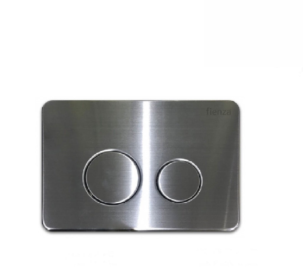 Fienza Flush Plate Stainless Steel Round Button (2530549334076)
