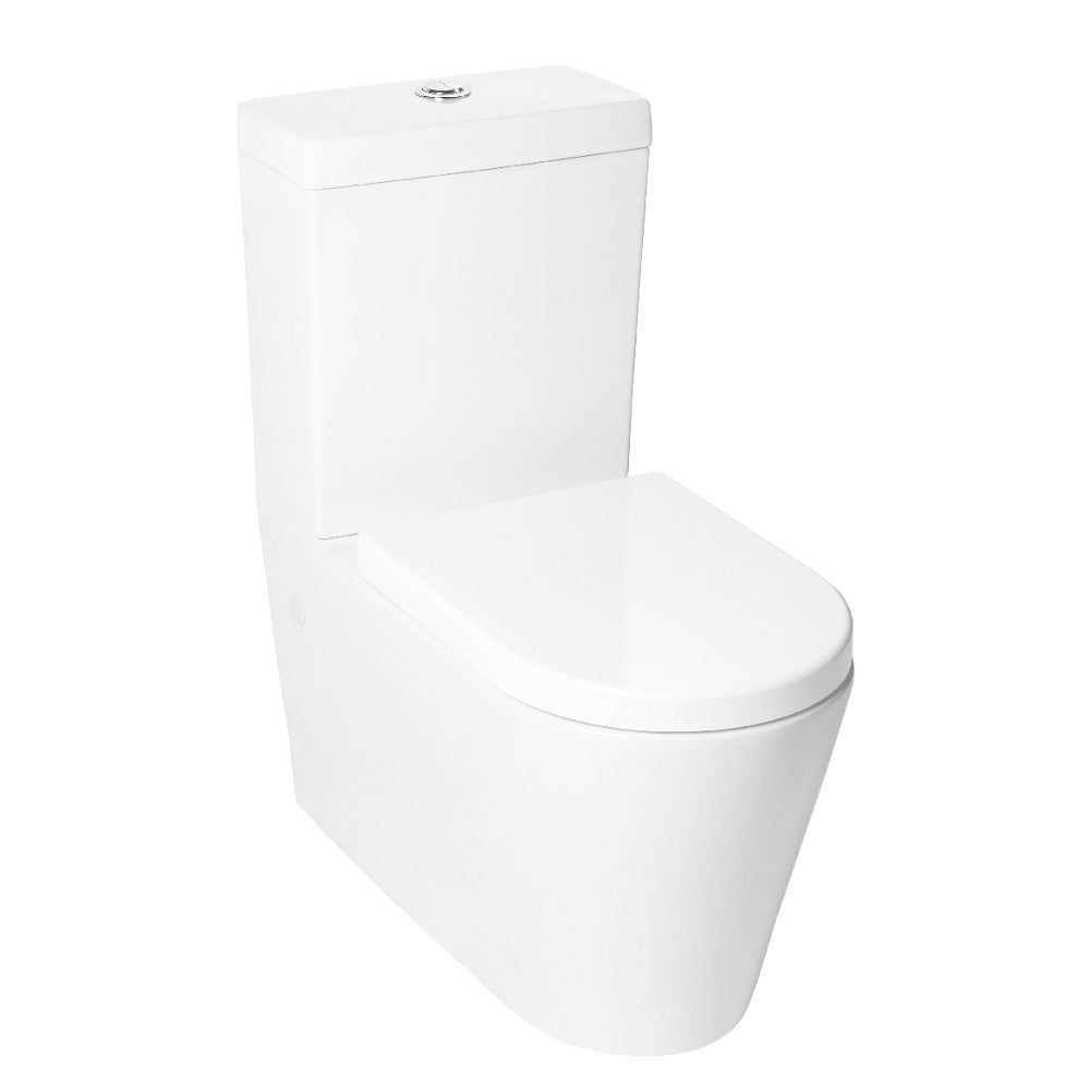 Impressions Toilet Suite Round Back to Wall White K-002 (4433125539900)