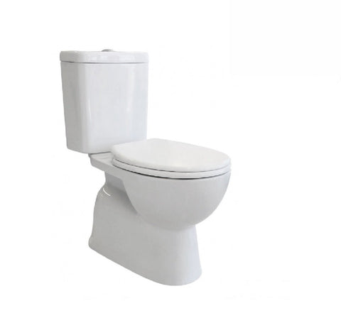 Fienza Toilet Close Coupled Stella Rimless White (2530542026812)