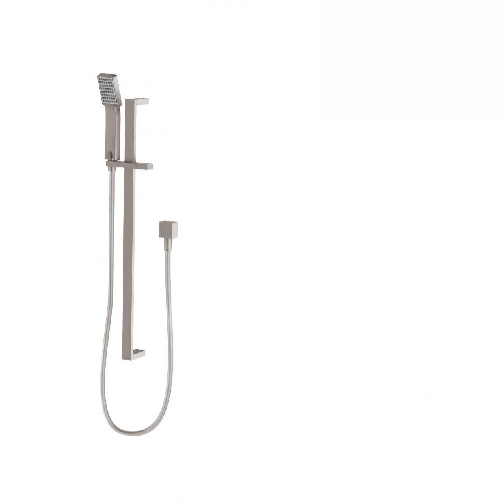 Phoenix Lexi Deluxe Rail Shower Brushed Nickel (4129897283644)
