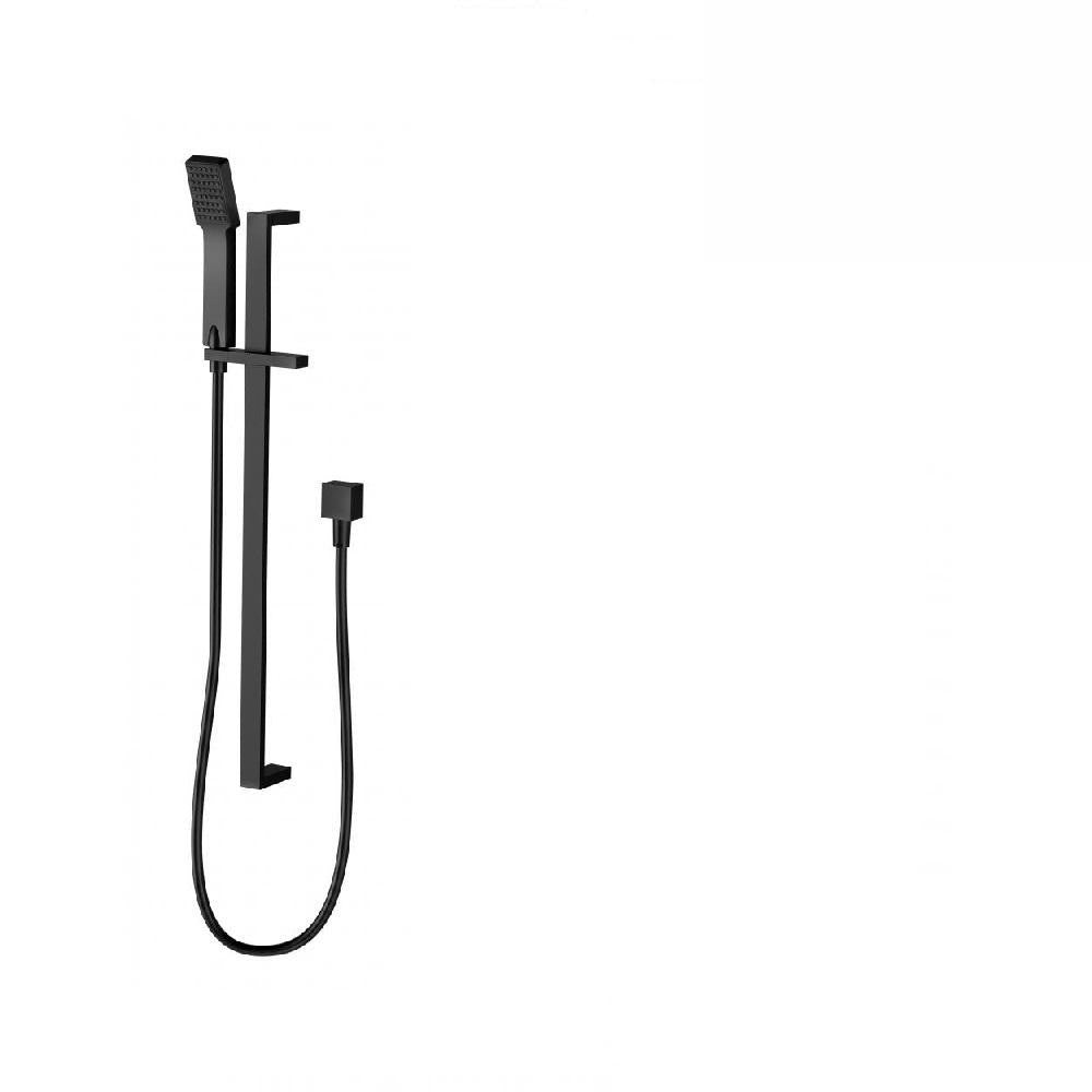 Phoenix Lexi Deluxe Rail Shower Matte Black (4129897381948)