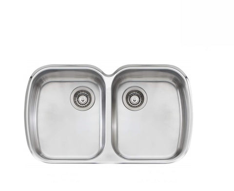 Oliveri Monet Double Bowl Undermount Stainless Steel (2530529280060)