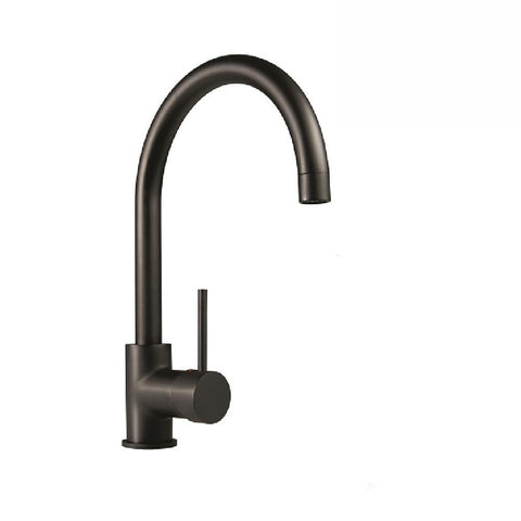 Mildon Bolera Curved Sink Mixer Matte Black (4143124348988)