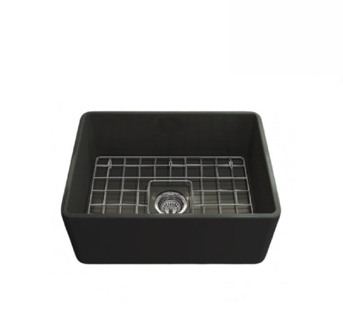 Turner Hastings Butler Novi Single Bowl Sink 60 x 46 Matte Black (2530553888828)