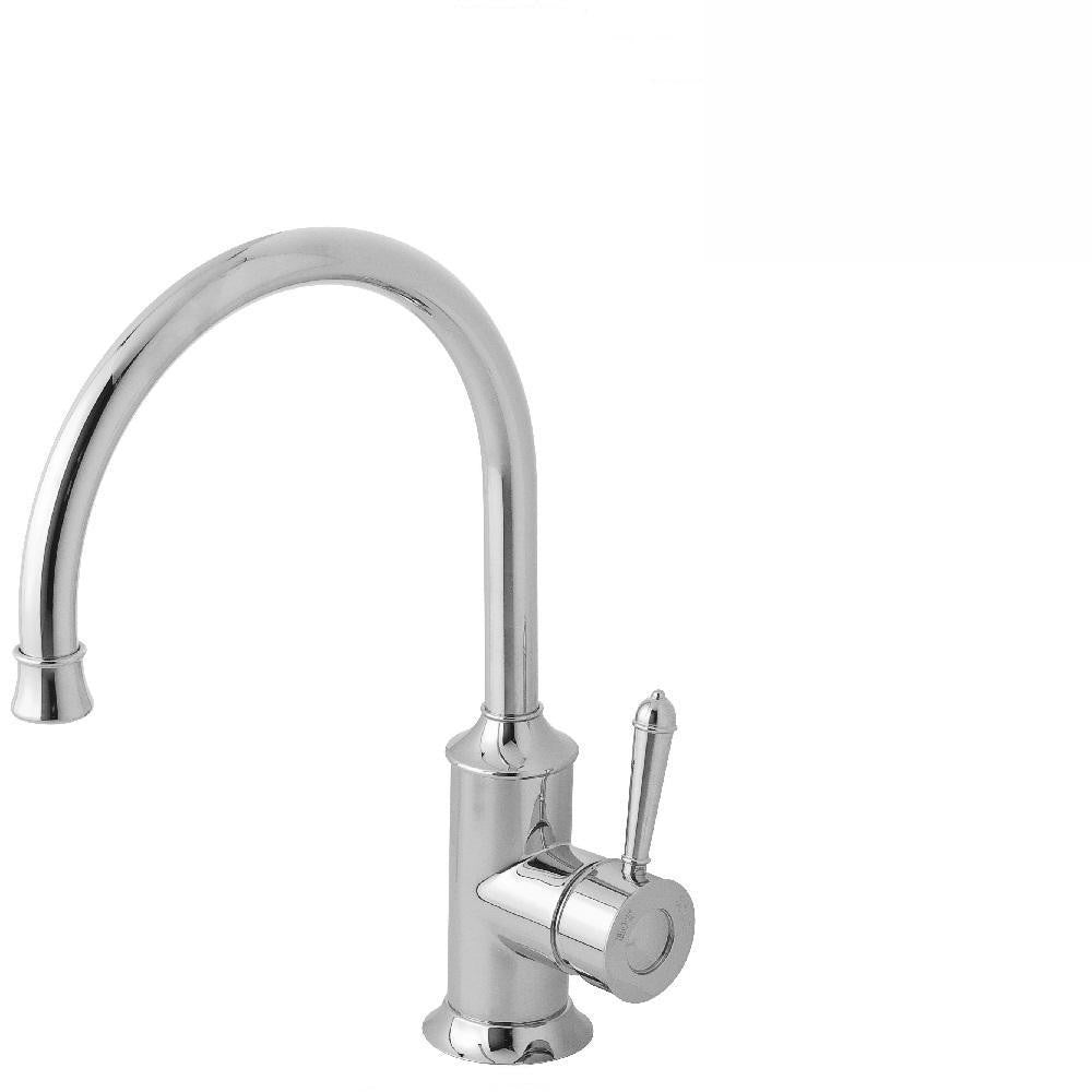 Phoenix Nostalgia Sink Mixer 220mm Gooseneck Chrome (4129898659900)