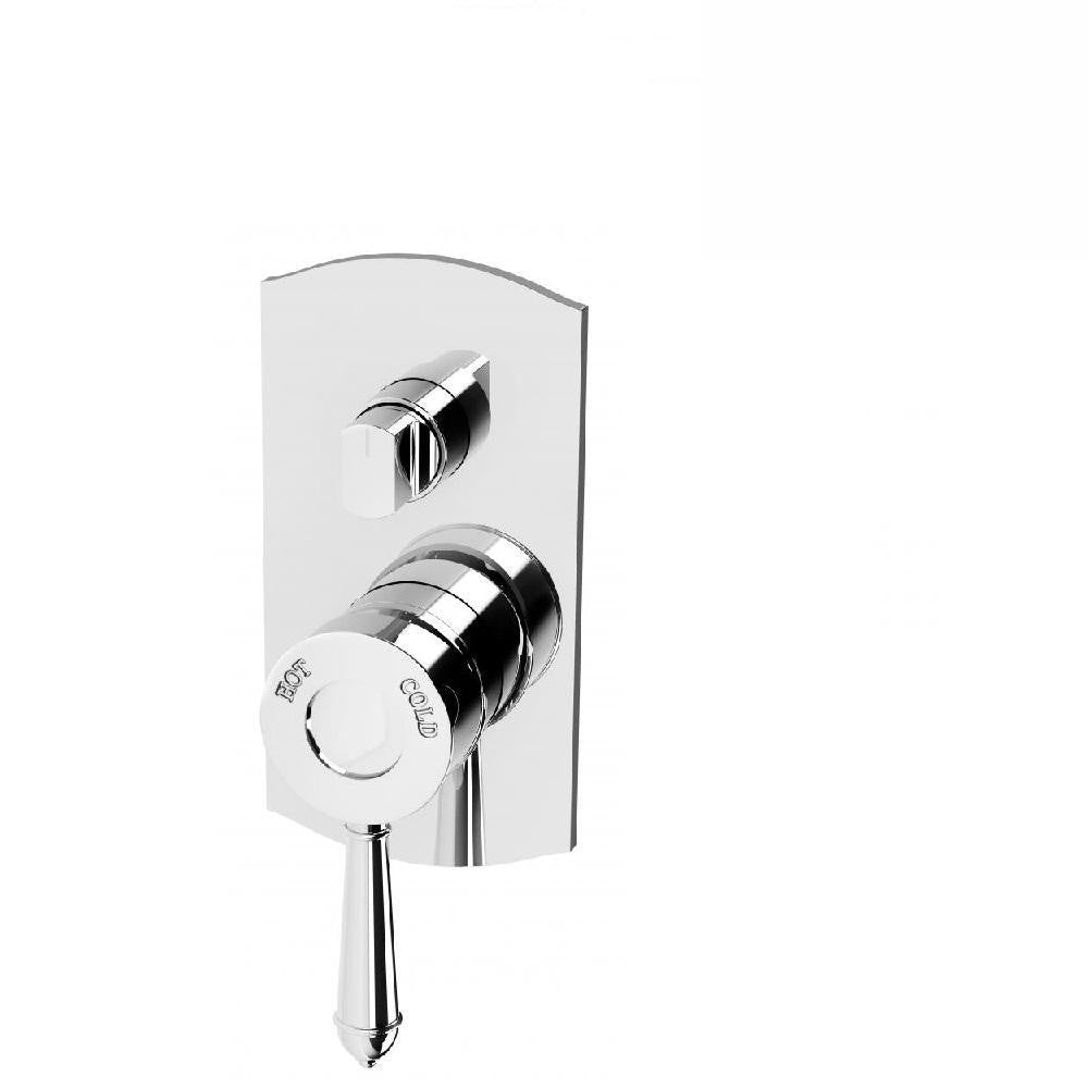 Phoenix Nostalgia Shower/ Bath Diverter Mixer Chrome (4129900068924)