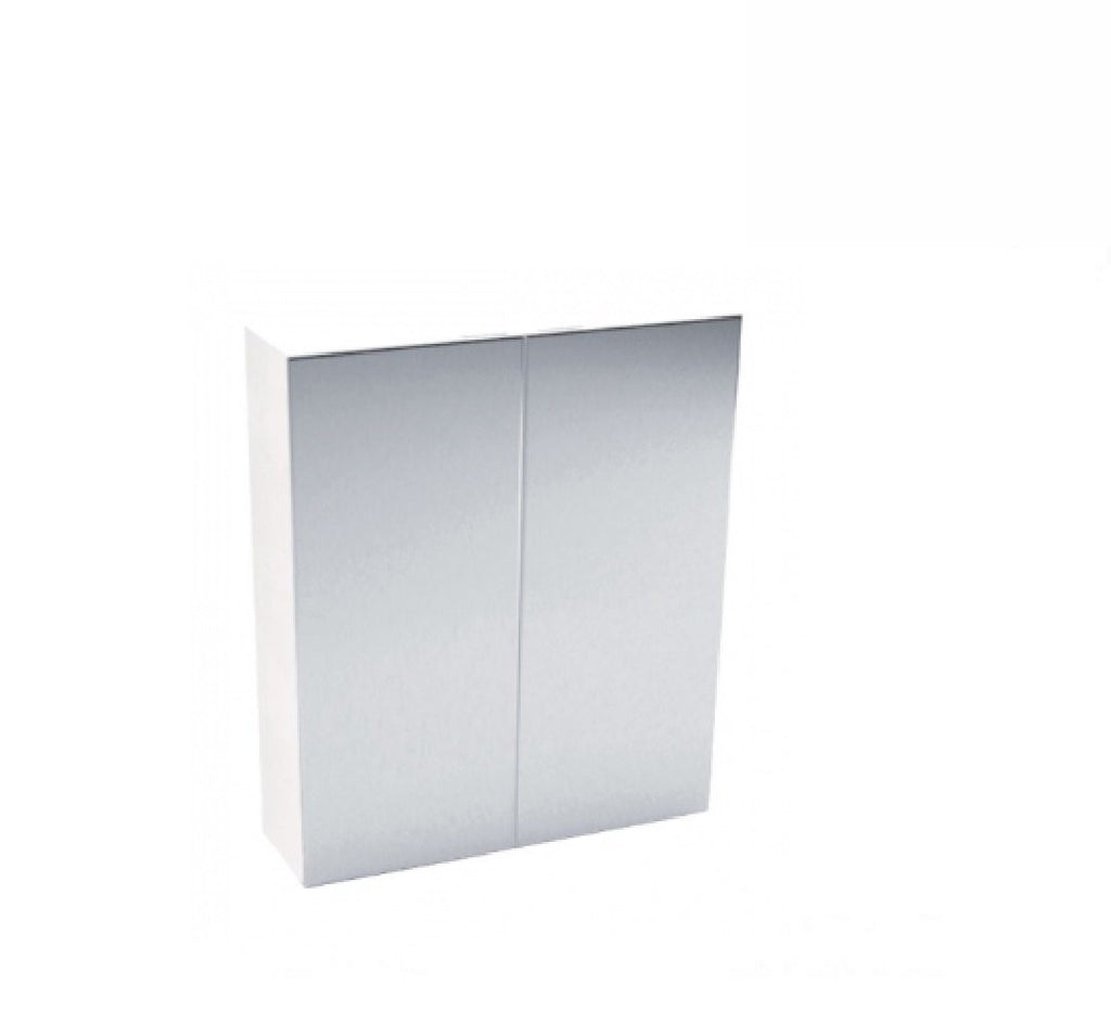Fienza Mirror Cabinet Pencil Edge 600mm x 720mm x 150mm