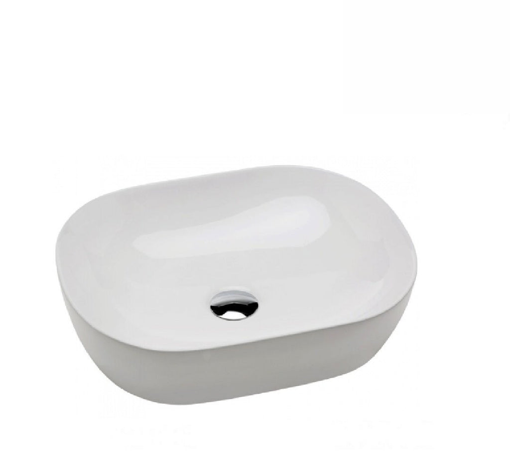 Fienza Above Counter Ceramic Basin Koko 465 White (2530540650556)