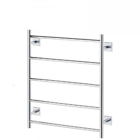 Phoenix Radii Towel Ladder 550 x 740mm Square Plate Chrome (4129903050812)