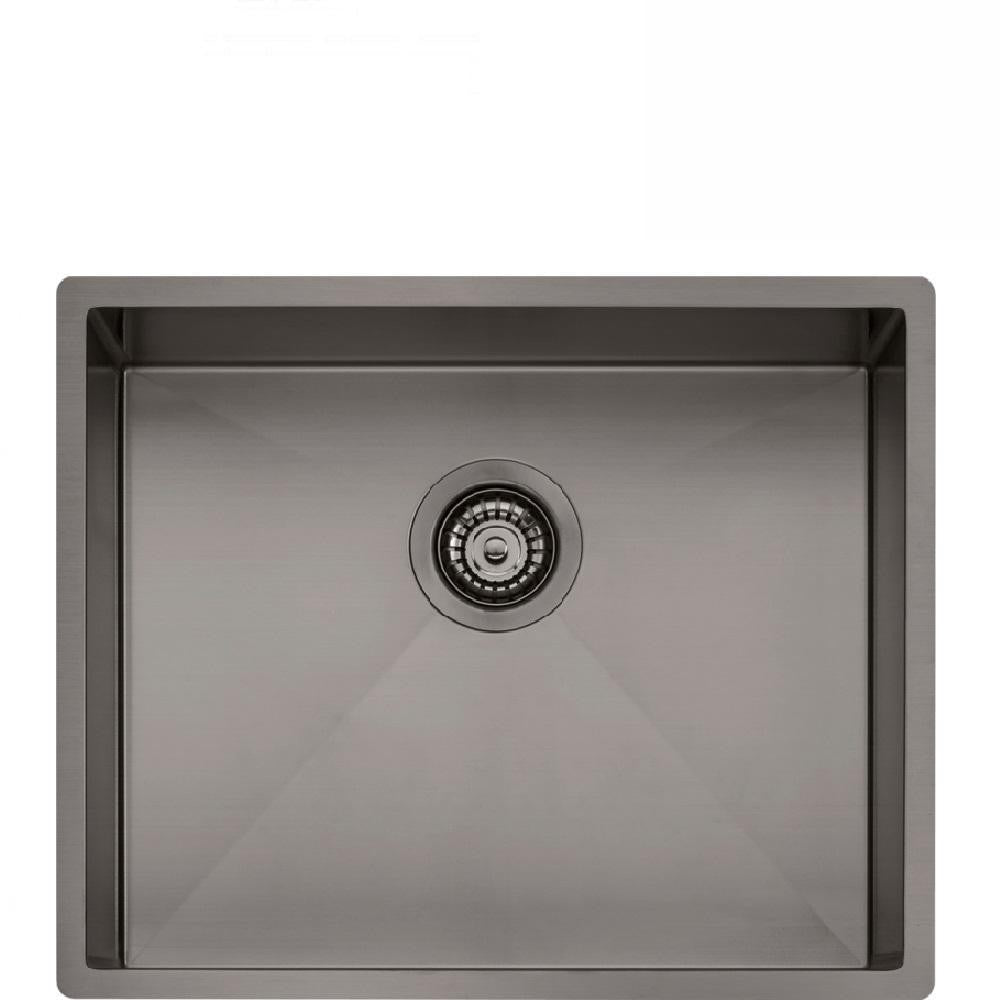 Oliveri Spectra Sink Single Bowl 540 x 445mm Topmount or Undermount Gun Metal (4129889124412)
