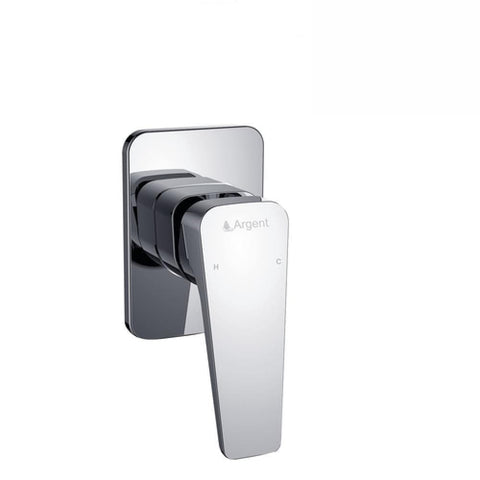 Argent Edge Shower Mixer Chrome