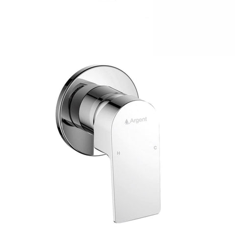 Argent Evoke Round Shower Mixer Chrome