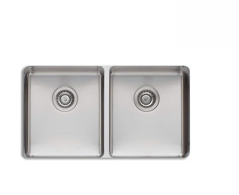 Oliveri Sonetto Double bowl Undermount Sink Stainless Steel (2530529738812)