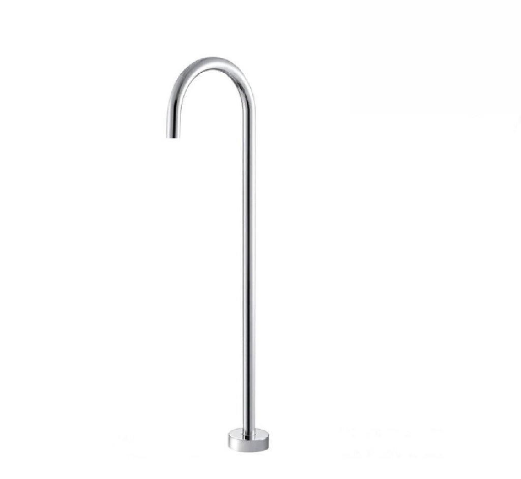 Fienza Isabella Floor Mount Bath Spout Chrome (2530546417724)
