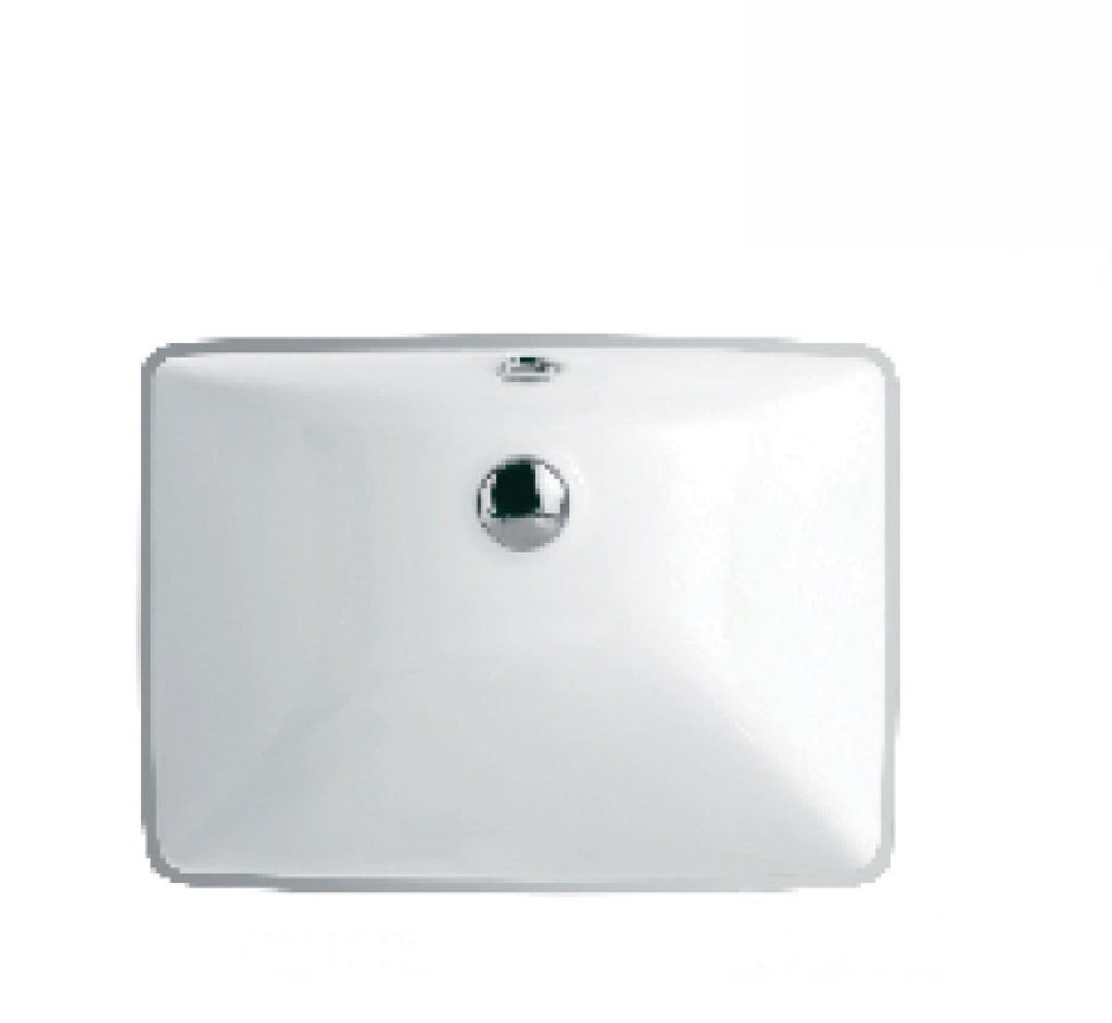 Fienza Undermount Ceramic Basin Sarah White (2530541305916)