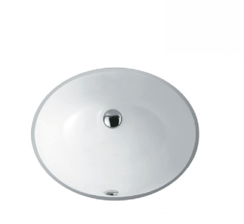 Fienza Undermount Ceramic Basin Karmen White (2530541273148)