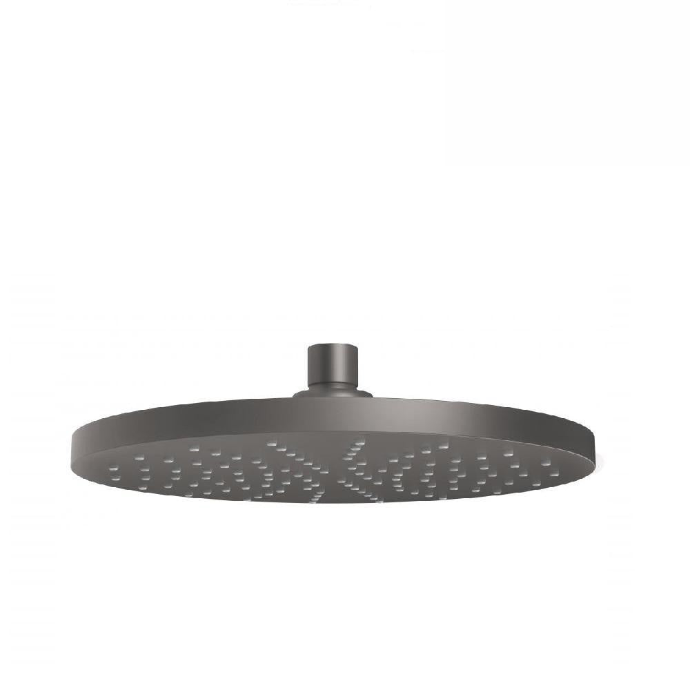 Phoenix Vivid Shower Rose 230mm Round Gun Metal (4129904754748)