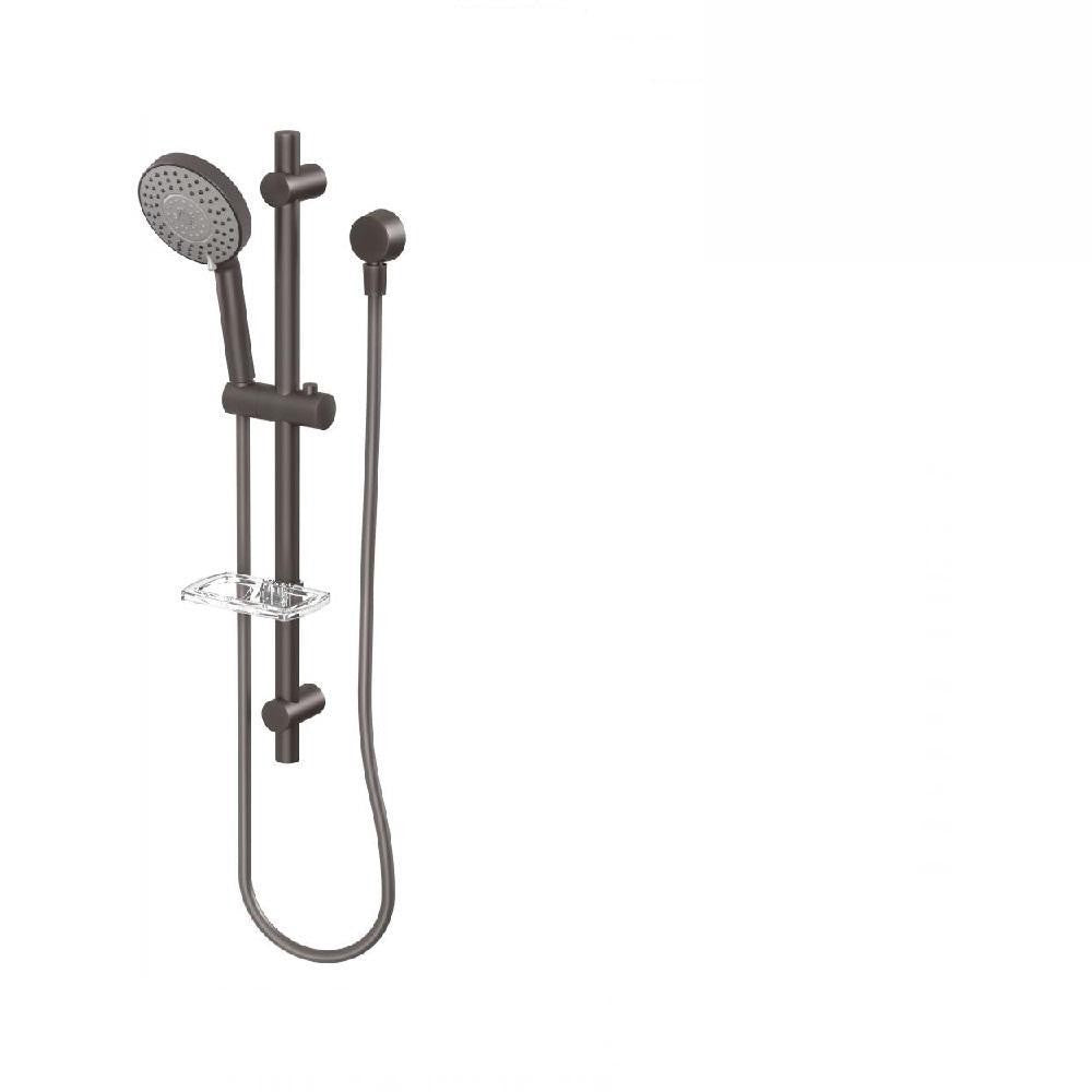 Phoenix Vivid Rail Shower Gun Metal (4129905344572)