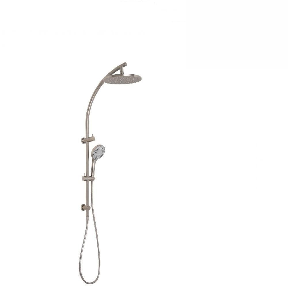 Phoenix Vivid Twin Shower Brushed Nickel (4129905508412)