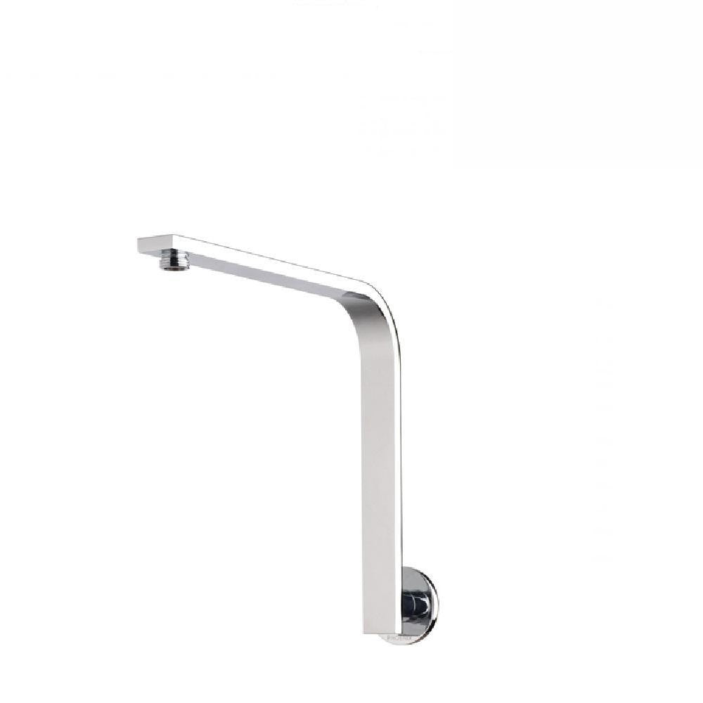 Phoenix Vivid Slimline High Rise Shower Arm Round Plate Chrome (4129906032700)