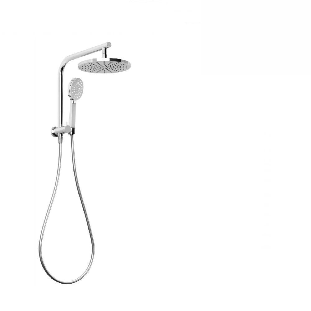 Phoenix Vivid Slimline Compact Twin Shower Chrome (4129906131004)