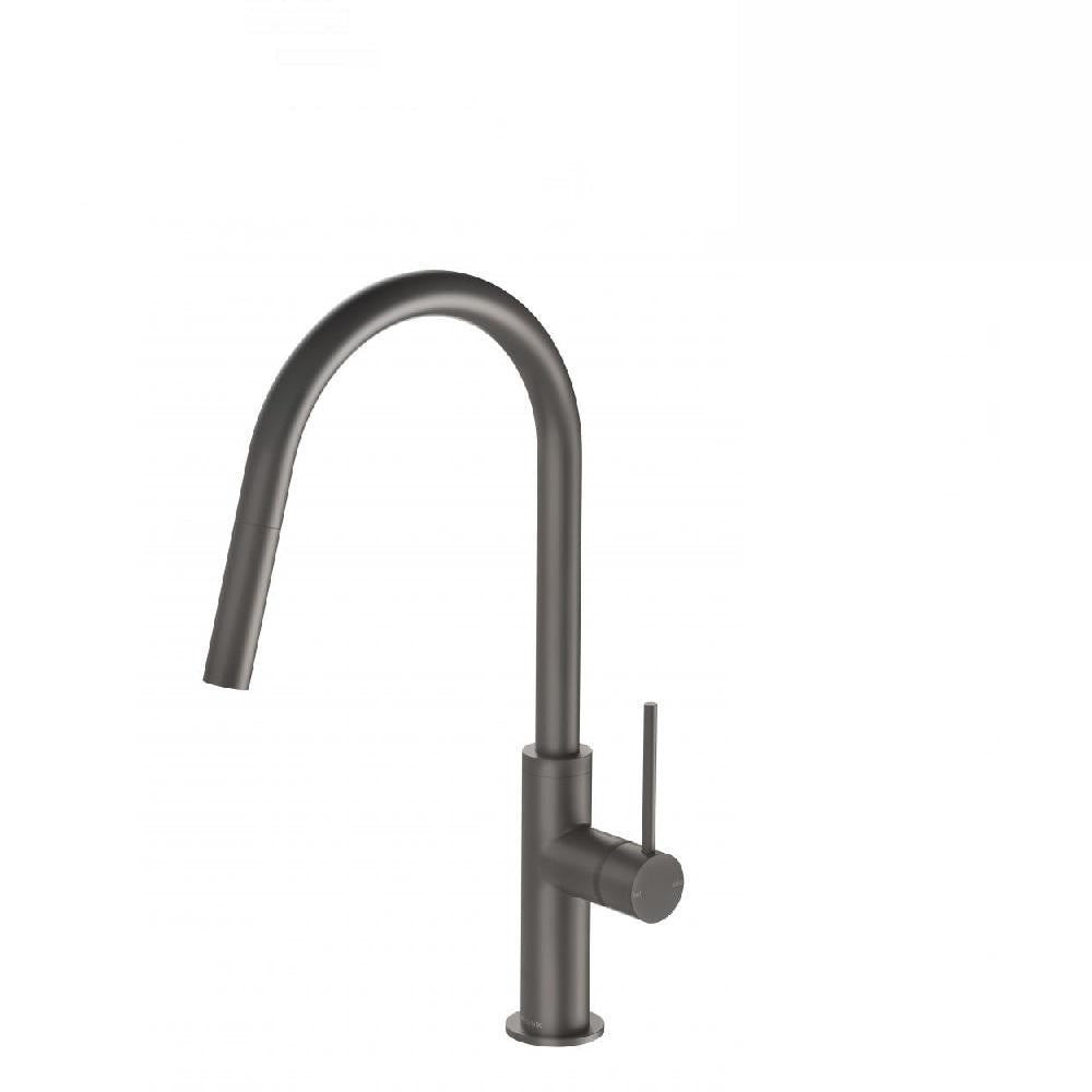 Phoenix Vivid Slimline Pull Out Sink Mixer Gun Metal (4129906393148)