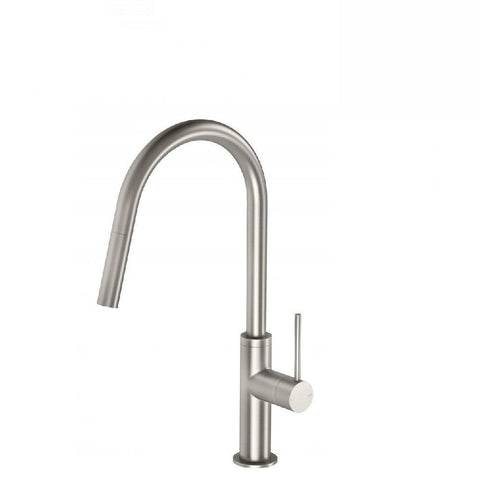 Phoenix Vivid Slimline Pull Out Sink Mixer Brushed Nickel