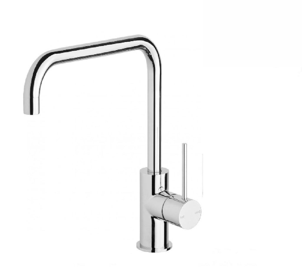 Phoenix Vivid Slimline Sink Mixer 220mm Squareline Chrome (2530531442748)