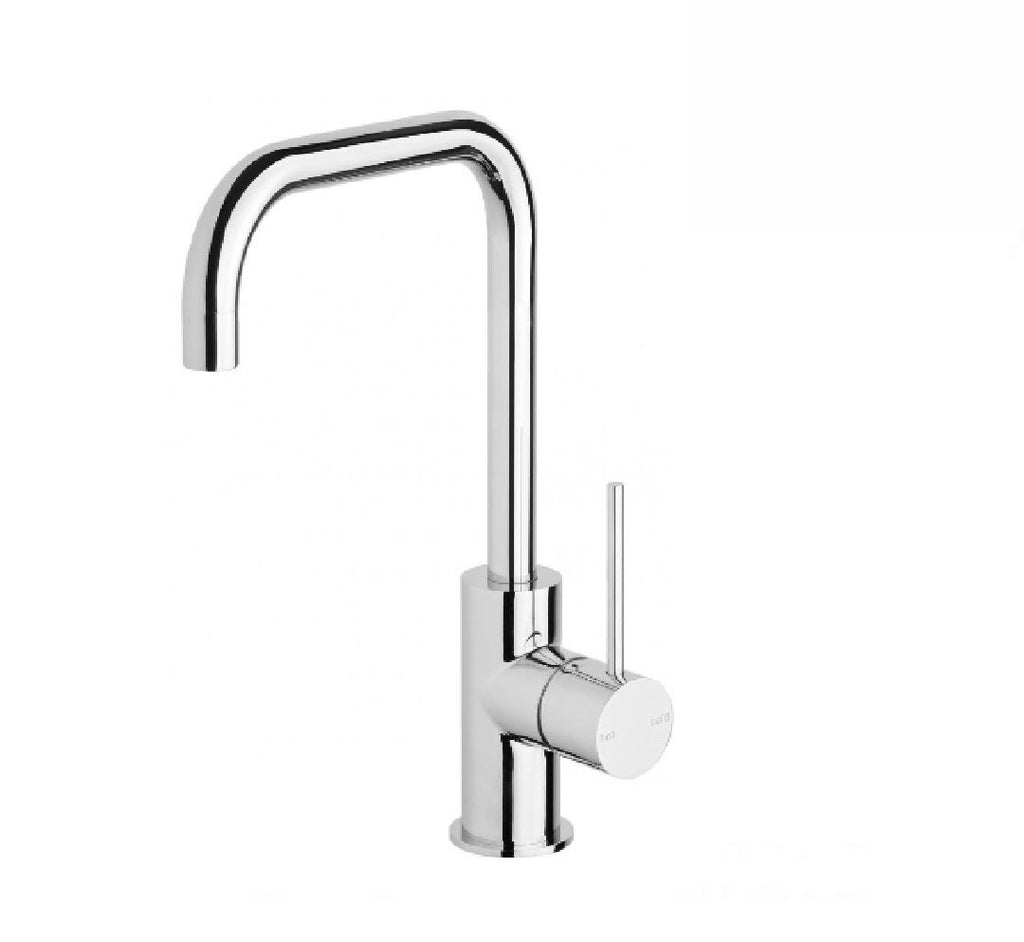 Phoenix Vivid Slimline Sink Mixer 160mm Squareline Chrome (2530531475516)