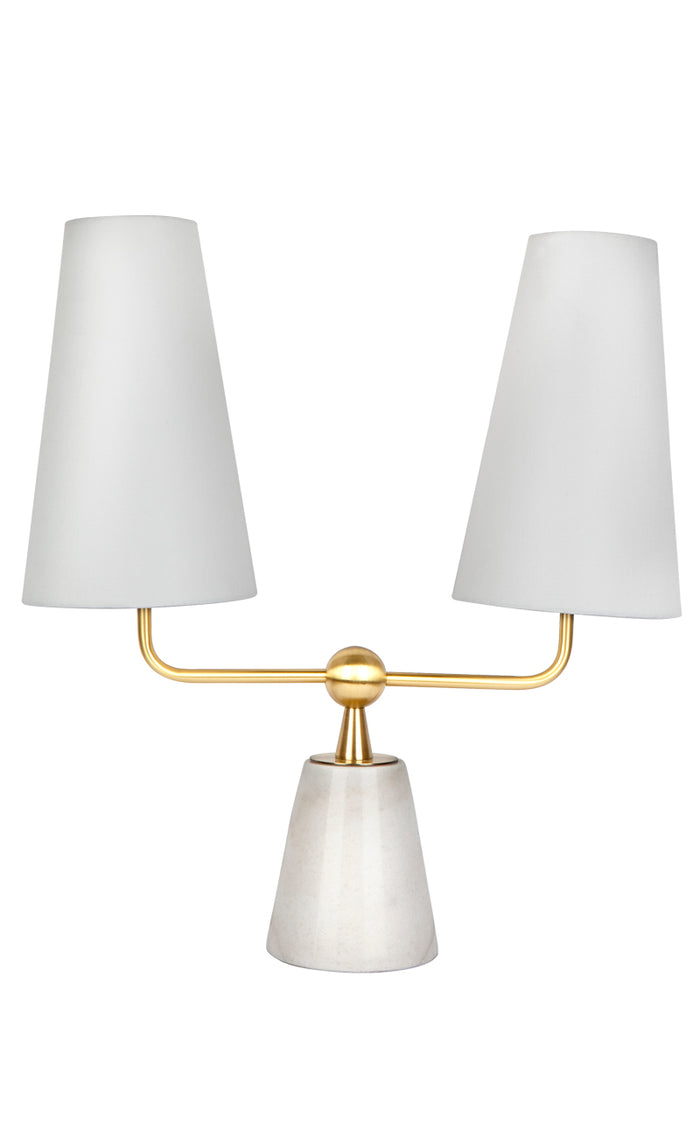 Stanbury Table Lamp - White