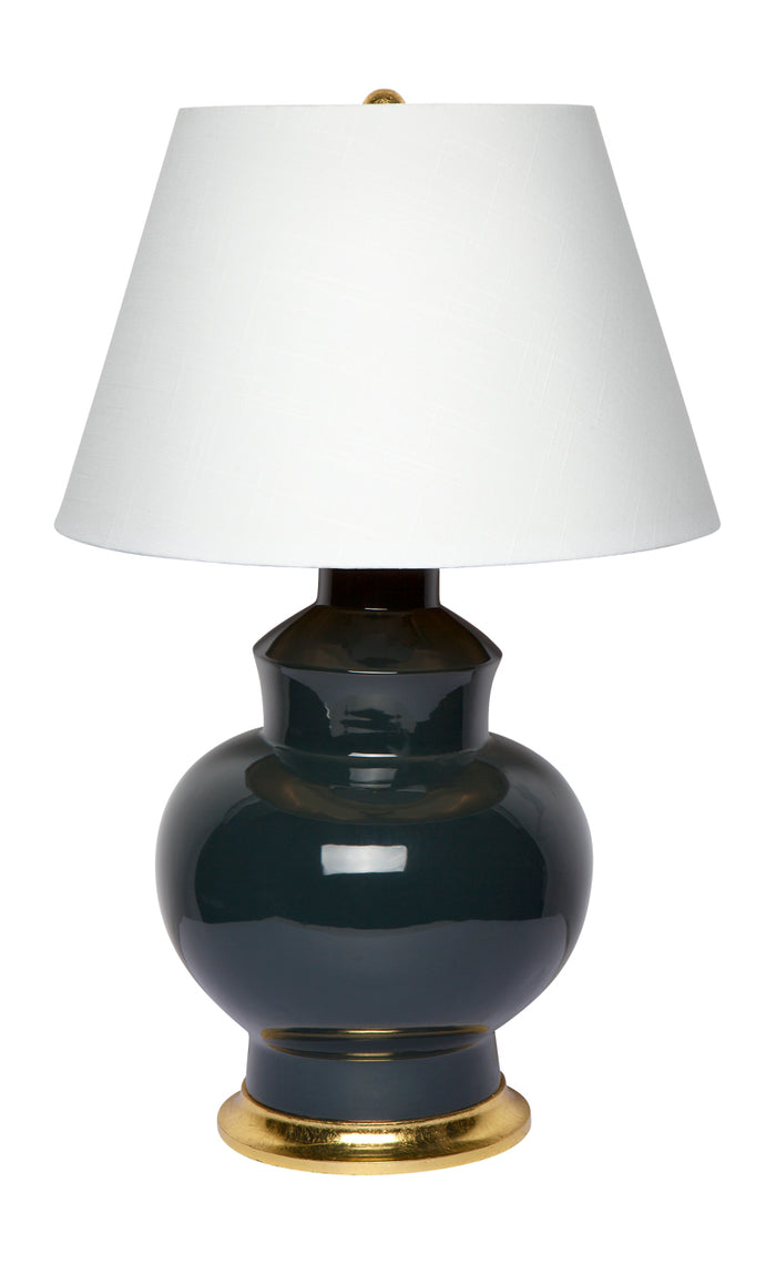 Torrence Table Lamp - Grey/Green