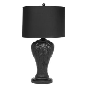 Martinique Table Lamp - Black