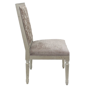 Travis Fabric Upholstered Solid Timber Dining Chair