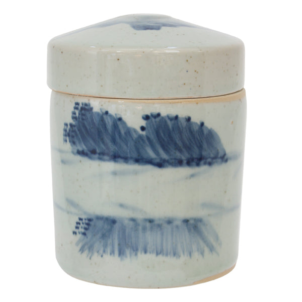 Cumulus Ceramic Lidded Jar, Small
