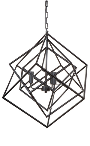 Tribecca Pendant - Medium Black