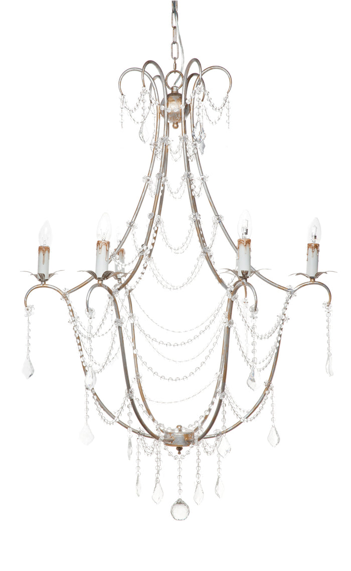 Whitney Chandelier - 6 Arm