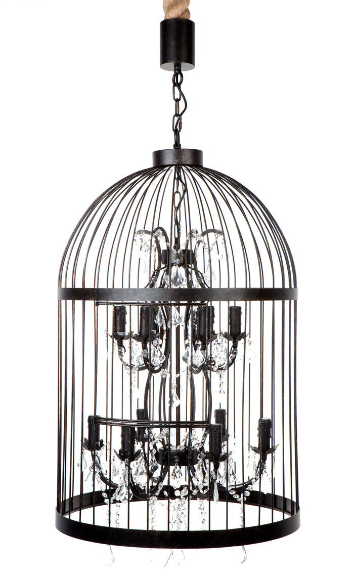 Macaw Chandelier - 12 Arm