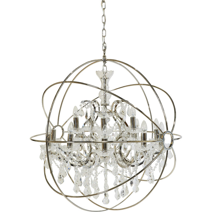 Oscar Chandelier - 15 Arm Nickel