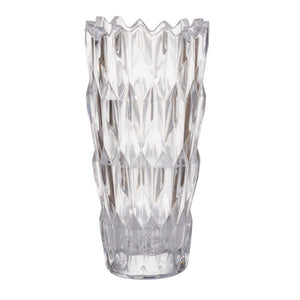 Amanda Crystal Glass Vase, Small